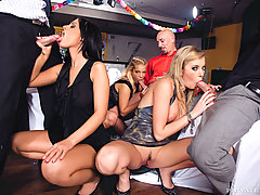 Biggest orgy ever with many hot European gals
