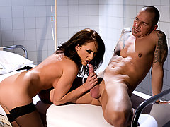 Slutty european milf nurse has a great body