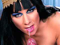 Stunning Egyptian Cleopatra gets fucked hard