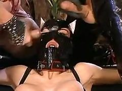 Latex doxy slurping double cum load