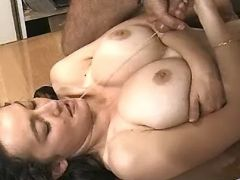 Office lady gets cumload