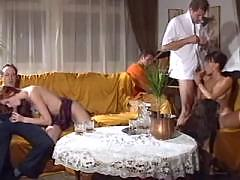 Swingers arrange orgy